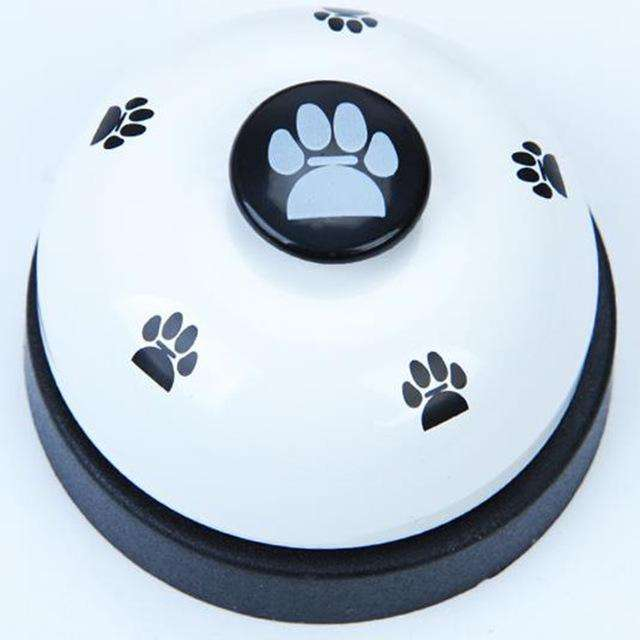 Charlie Buddy - Hand picked products for your dogs and cats-Dog Feeding Training Bell-White