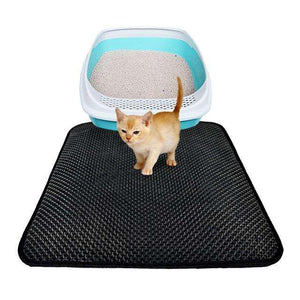 Charlie Buddy - Hand picked products for your dogs and cats-Double Layer Cat Litter Mat with Free Shovel-Medium