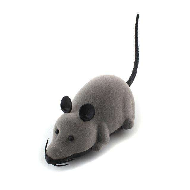 Charlie Buddy - Hand picked products for your dogs and cats-Electronic Mouse Toy-Grey
