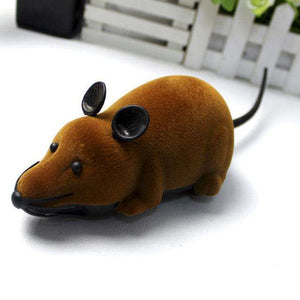 Charlie Buddy - Hand picked products for your dogs and cats-Electronic Mouse Toy-Brown