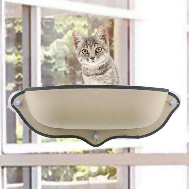 Charlie Buddy - Hand picked products for your dogs and cats-Hammock Window Cat Bed