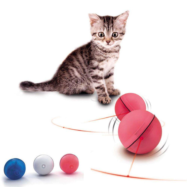 Charlie Buddy - Hand picked products for your dogs and cats-Interactive Laser Cat Ball