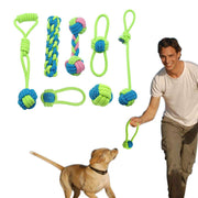 Charlie Buddy - Hand picked products for your dogs and cats-Knotted Cotton Dog Toys