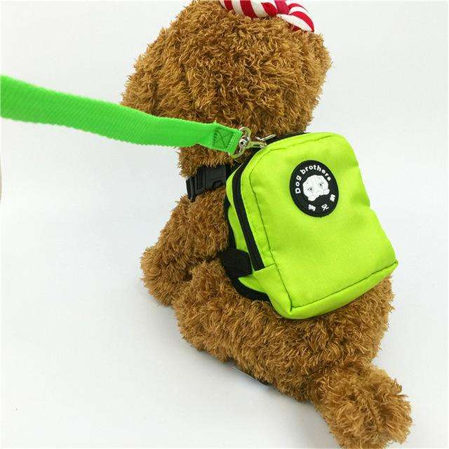 Charlie Buddy - Hand picked products for your dogs and cats-Little Dog Back Pack-green / S