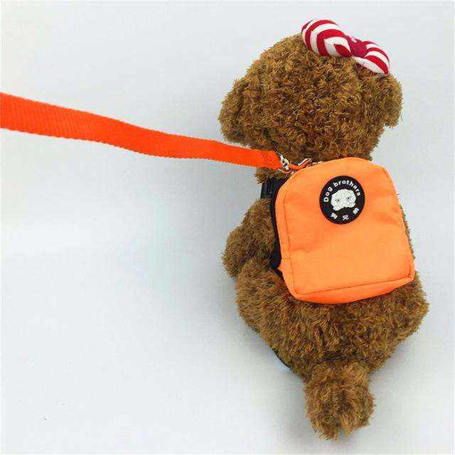 Charlie Buddy - Hand picked products for your dogs and cats-Little Dog Back Pack-orange / S