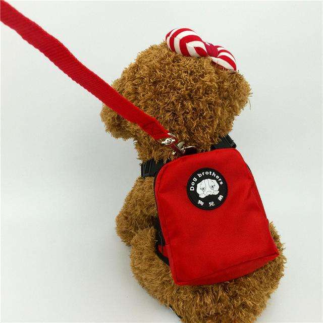 Charlie Buddy - Hand picked products for your dogs and cats-Little Dog Back Pack-red / S