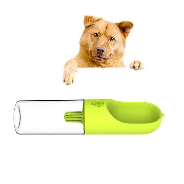 Charlie Buddy - Hand picked products for your dogs and cats-One Touch Water Bottle-Green