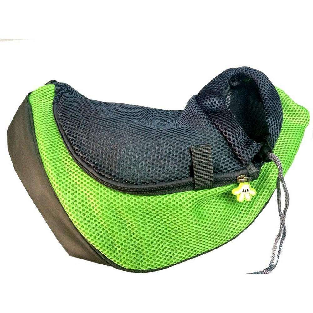 Charlie Buddy - Hand picked products for your dogs and cats-Pet Carrier Bag-Green / L