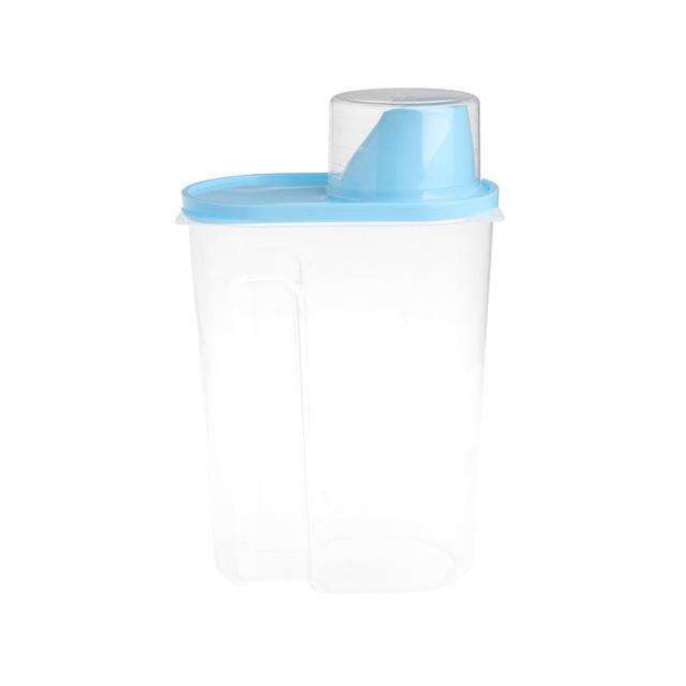 Charlie Buddy - Hand picked products for your dogs and cats-Pet Food Container With Cup-Blue / L