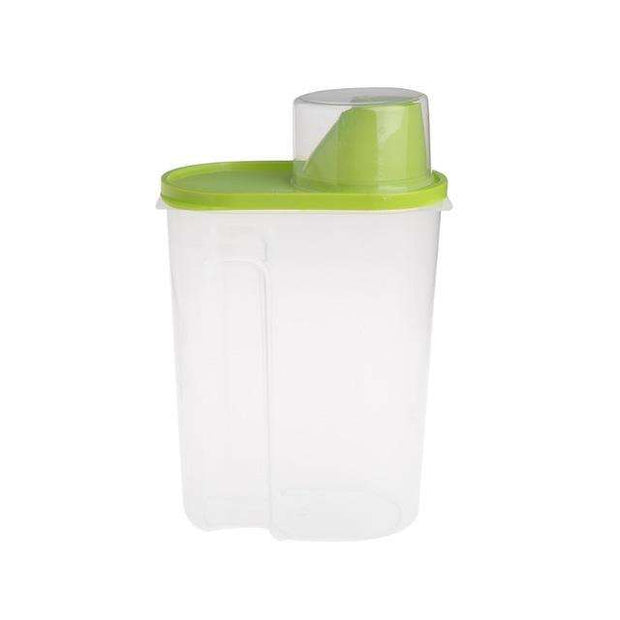 Charlie Buddy - Hand picked products for your dogs and cats-Pet Food Container With Cup-Green / L