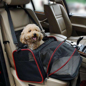 Charlie Buddy - Hand picked products for your dogs and cats-Portable Car Travel Bag For Small Pets