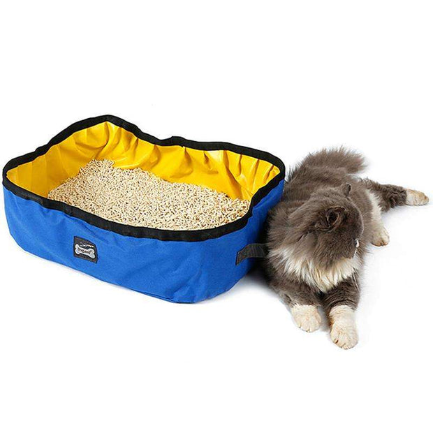 Charlie Buddy - Hand picked products for your dogs and cats-Portable Waterproof Litter Box