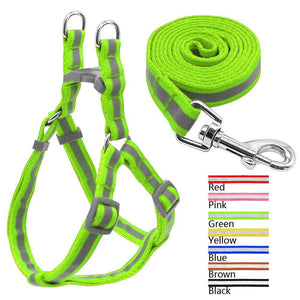Charlie Buddy - Hand picked products for your dogs and cats-Reflective Safety Leash & Harness Combo