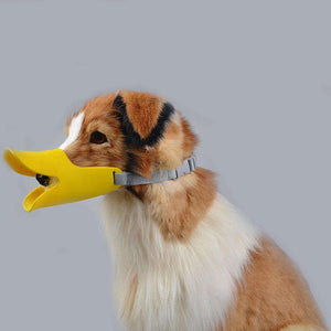 Charlie Buddy - Hand picked products for your dogs and cats-Silicone Duck Dog Muzzle