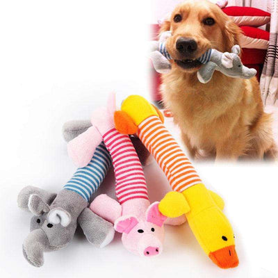 Charlie Buddy - Hand picked products for your dogs and cats-Squeaker Plush Dog Toy
