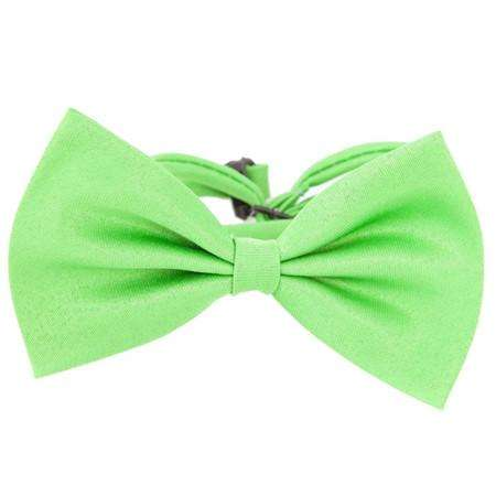 Charlie Buddy - Hand picked products for your dogs and cats-Super Cute Bow Tie Collar-Green