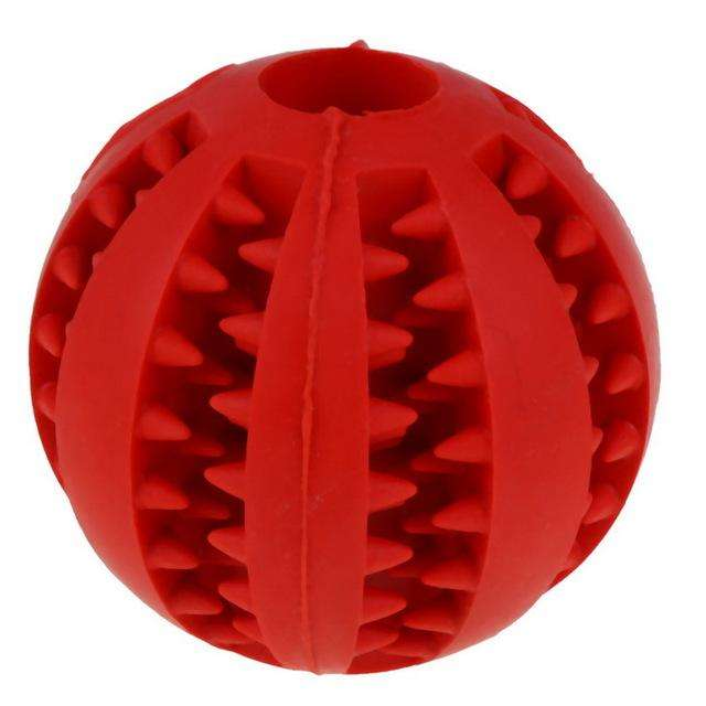 Charlie Buddy - Hand picked products for your dogs and cats-Tooth Cleaning Chew Ball-Red / 5.2 cm