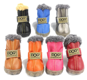 Charlie Buddy - Hand picked products for your dogs and cats-Trendy Super Warm Dog Shoes