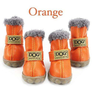 Charlie Buddy - Hand picked products for your dogs and cats-Trendy Super Warm Dog Shoes-Orange / L