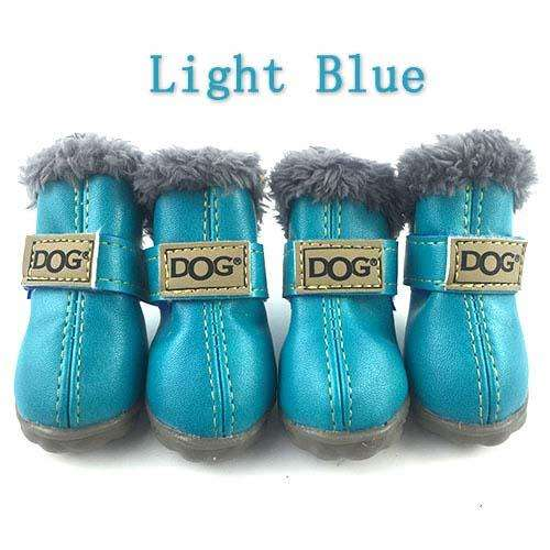 Charlie Buddy - Hand picked products for your dogs and cats-Trendy Super Warm Dog Shoes-New Blue / S