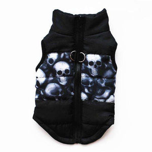 Charlie Buddy - Hand picked products for your dogs and cats-Warm Windproof Padded Vest-Black / L
