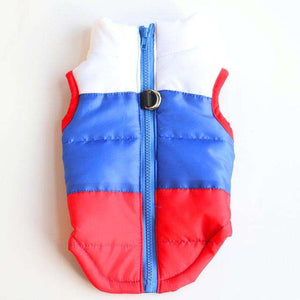 Charlie Buddy - Hand picked products for your dogs and cats-Warm Windproof Padded Vest-Russia / L