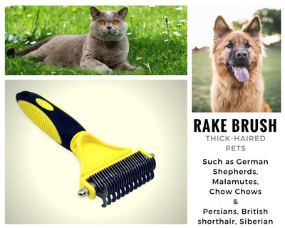 Pet Rake Brush