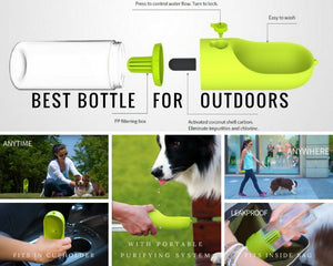 One Touch Water Bottle
