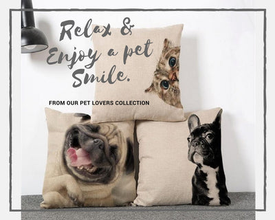 Funny Pets Collection Pillowcases