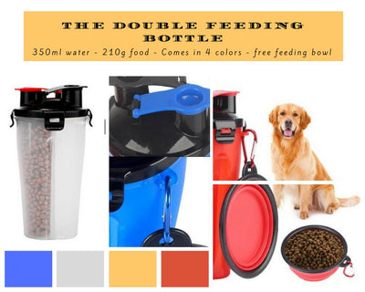 Pet Travel Feeding Container