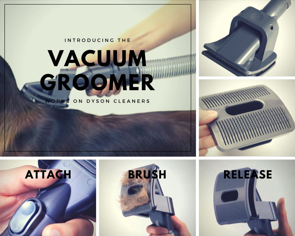Pet Grooming Brush Tool for Vacuum Cleaner