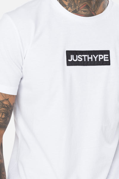 HYPE White Box Logo T-shirt