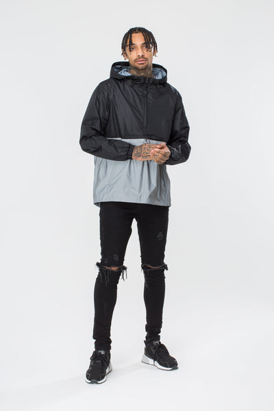 HYPE Reflective Pullover Jacket