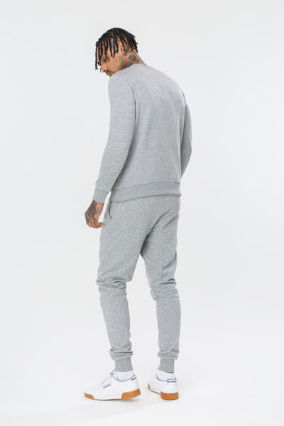HYPE Men's Crewneck Hype Script Grey