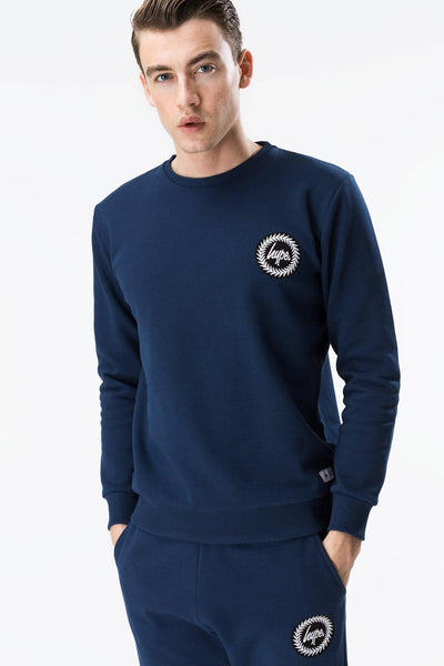 HYPE MEN´S CREST LOGO CREWNECK