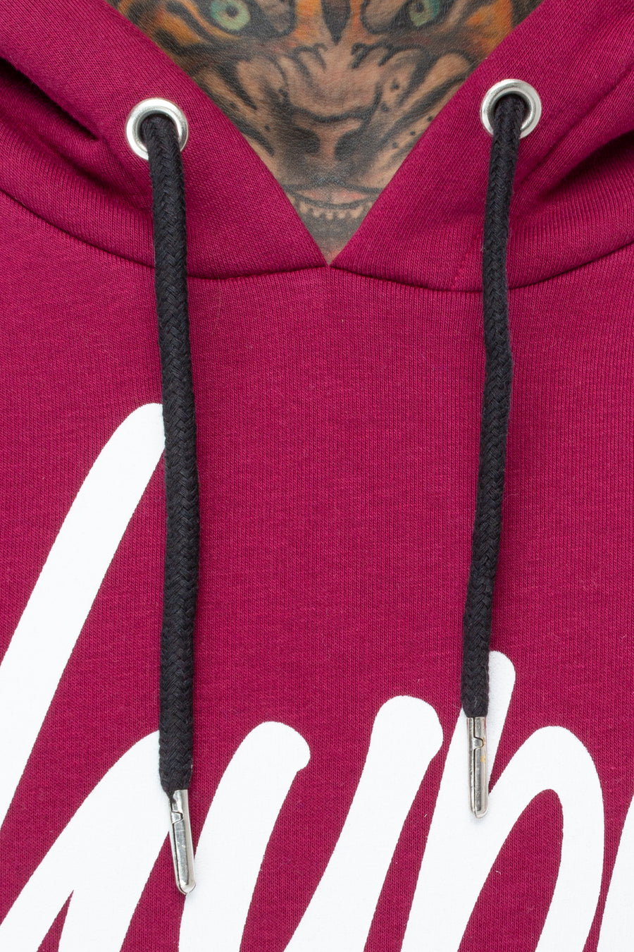 HYPE Men's Pullover Hoodie Mulberry