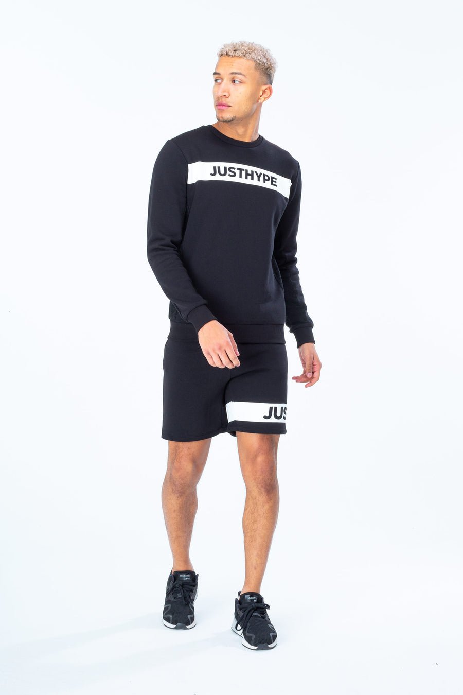 HYPE Men's Crewneck Hype Stripe