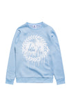 HYPE Men's Crewneck Drip Crest Blue