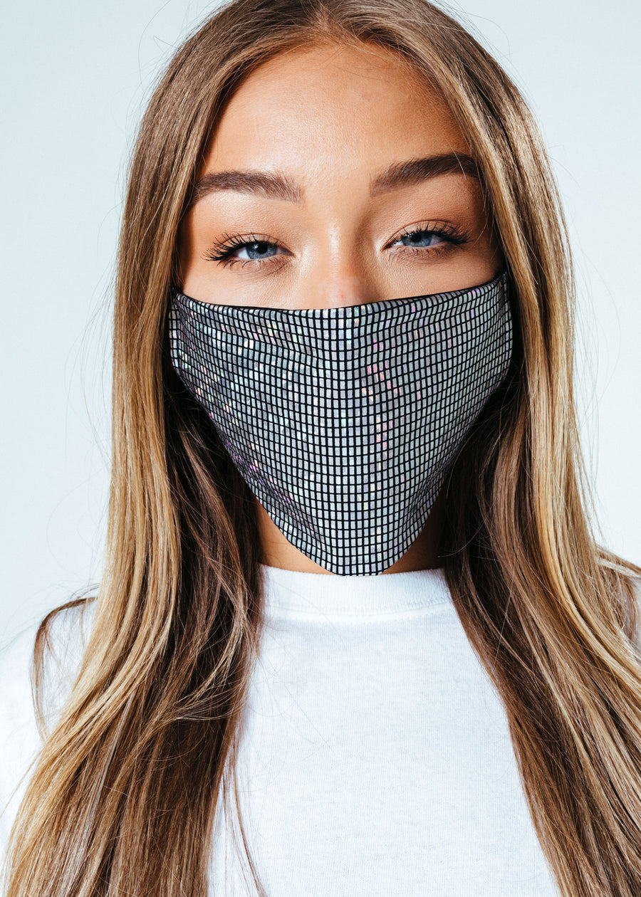 HYPE ADULT SILVER TECH FACE MASK (EJ BYTE / ÅTERKÖP PGA COVID-19)