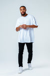 HYPE MEN´S WHITE OVERSIZED T-SHIRT