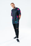 HYPE MEN´S DISCO ROSE OVERSIZED T-SHIRT