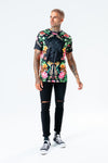 HYPE MEN'S FLORAL LEOPARD T-SHIRT