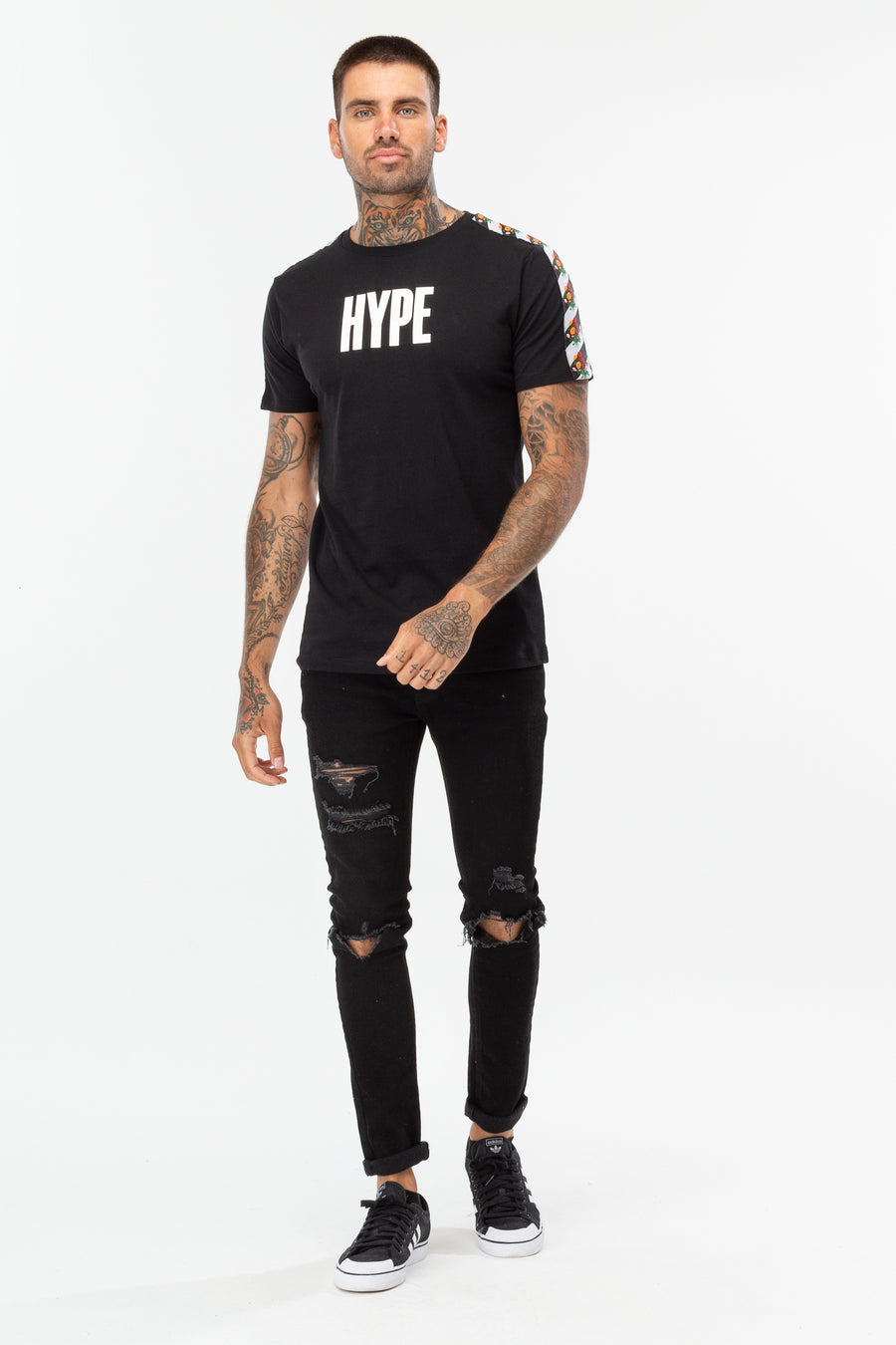 HYPE CHEVERON TAPE TEE