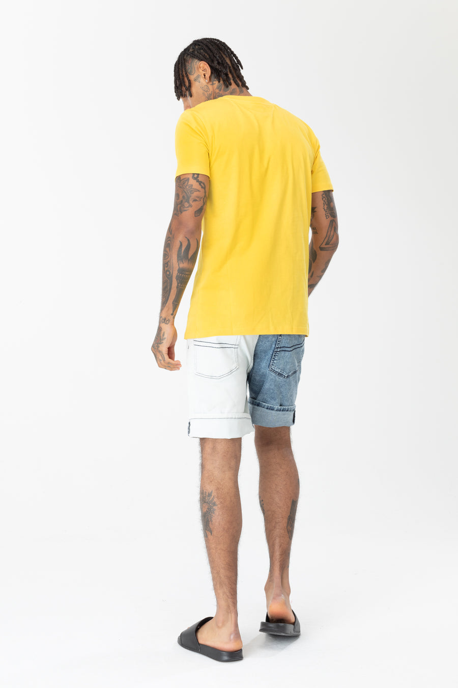 HYPE MEN'S T-SHIRT MANGO SCRIPT