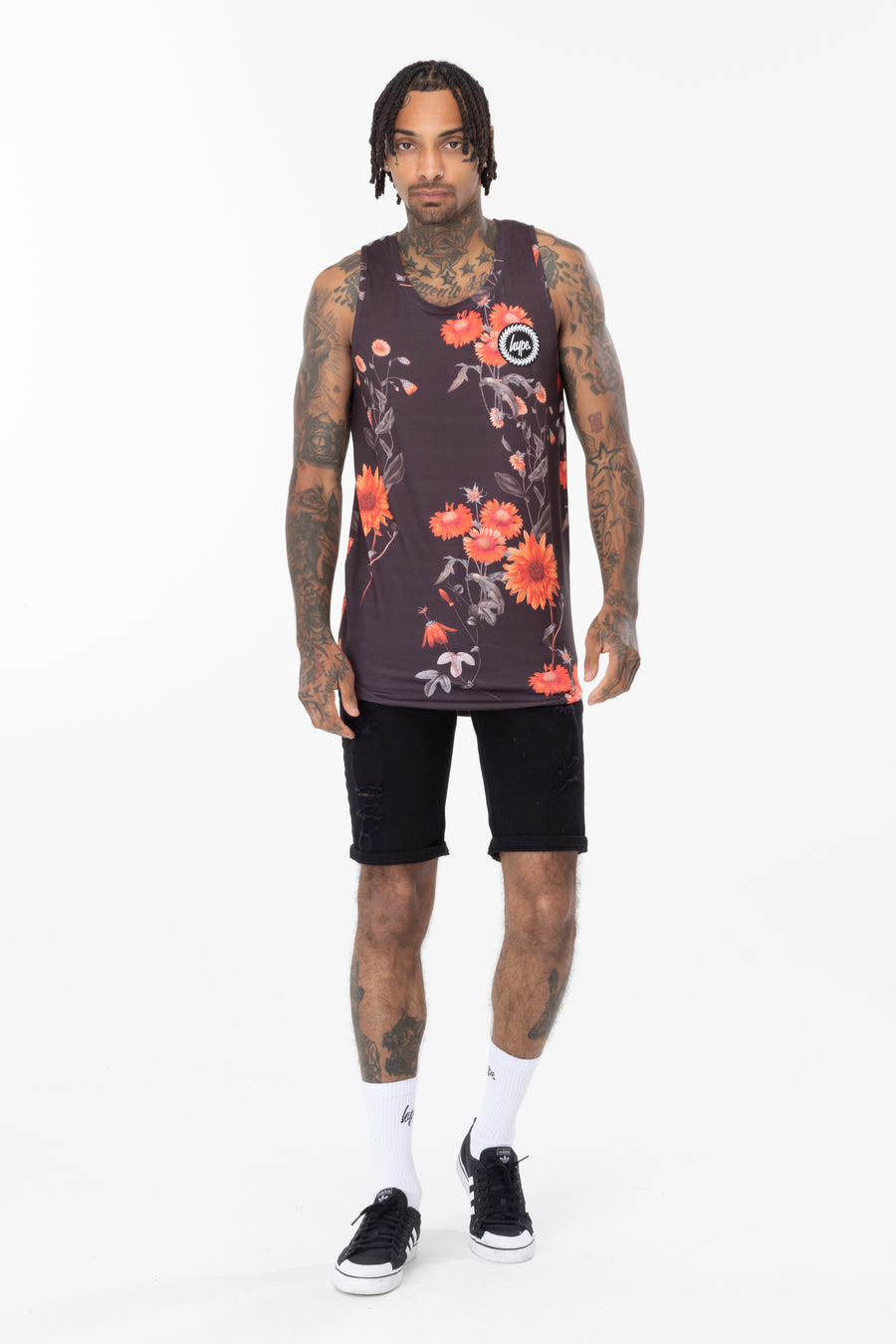 HYPE Men's Vest Black Wood