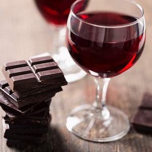 Look younger with Dark Chocolate and Red wine!