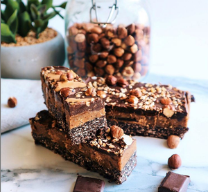 Chocolate Hazelnut Praline Protein bars