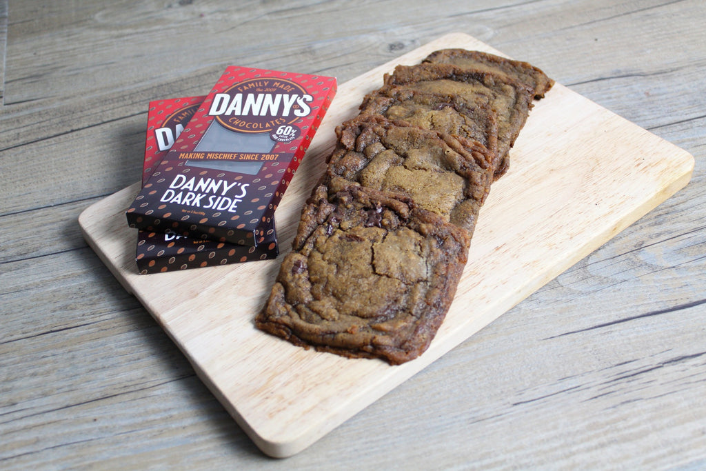 Dannys Dark Side vegan cookies