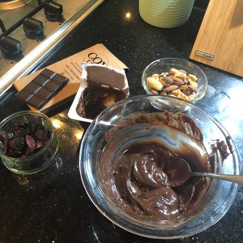 Ingredients - Cox&Co vegan desert