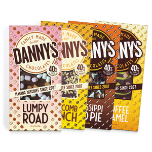 Flavoured Variety Bundle 4 x 100g - DANNY'S Chocolates